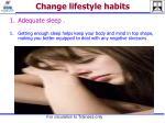 change lifestyle habits4