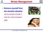 stress management4
