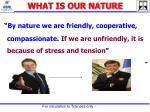 what is our nature