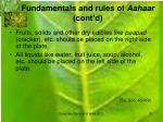 fundamentals and rules of aahaar cont d3