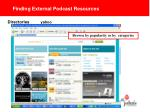 finding external podcast resources3