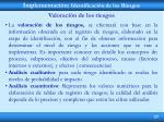implementaci n identificaci n de los riesgos8