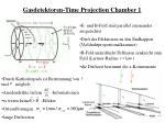 gasdetektoren time projection chamber 1
