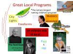 great local programs