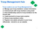 troop management hub1