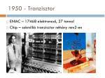 1950 tranzisztor