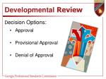 developmental review1