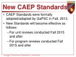 new caep standards1
