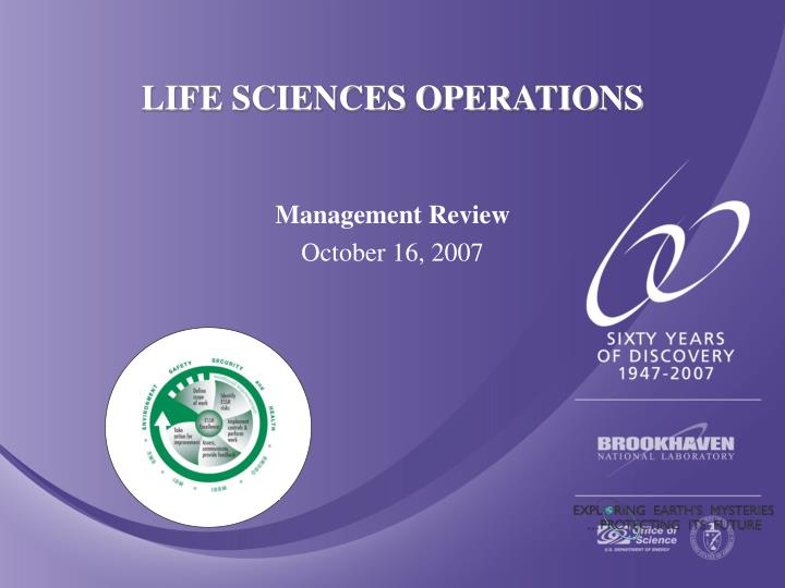 life sciences operations n.