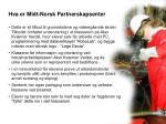 hva er midt norsk partnerskapsenter