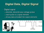 digital data digital signal