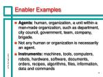 enabler examples