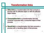 transformation links