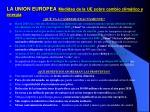la union europea medidas de la ue sobre cambio clim tico y energ a1