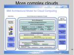 more complex clouds