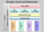 simple cloud architectures