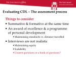 evaluating cdl the assessment process3