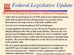 federal legislative update2