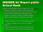 insider nj report public school rank