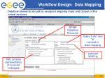 workflow design data mapping