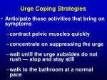 urge coping strategies