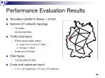 performance evaluation results1