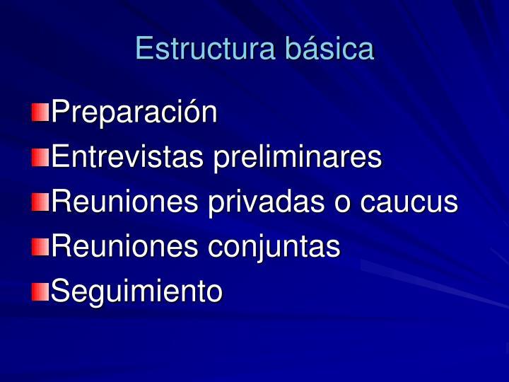 Estructura básica