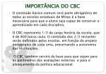 import ncia do cbc