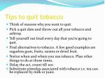 tips to quit tobacco1