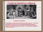 contexto hist rico cultural