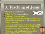 3 teaching of jesus