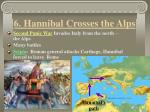 6 hannibal crosses the alps