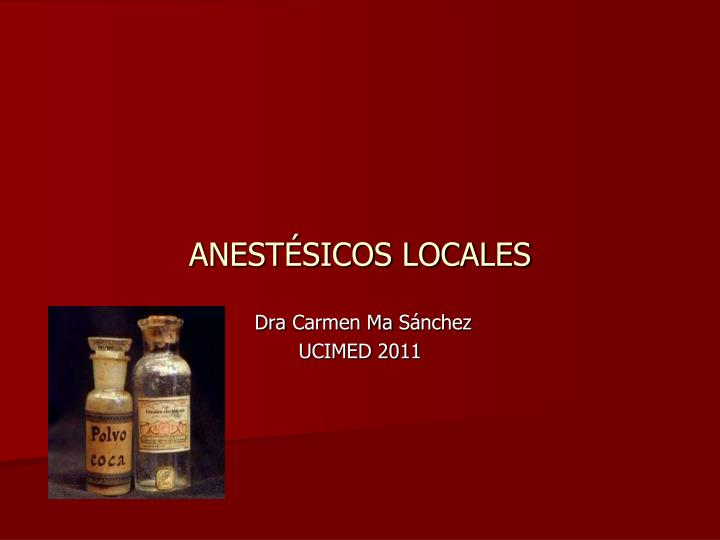 anest sicos locales n.