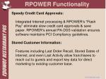 rpower functionality6