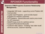 rpower functionality7