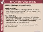 rpower functionality9