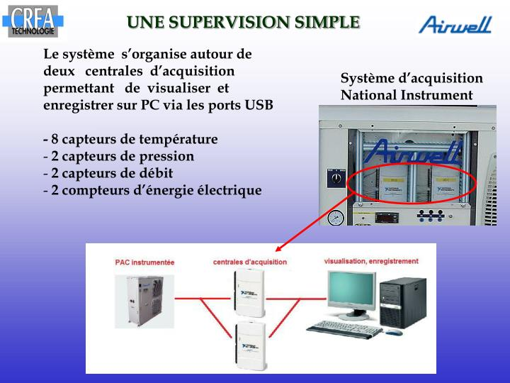 UNE SUPERVISION SIMPLE