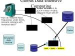 globus data intensive computing