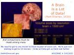 a brain is a lot of data mark ellisman ucsd