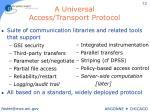 a universal access transport protocol