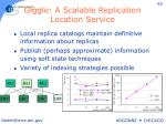 giggle a scalable replication location service