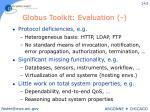 globus toolkit evaluation1
