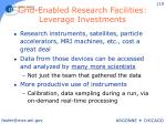 grid enabled research facilities leverage investments