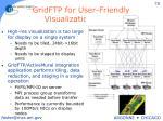 gridftp for user friendly visualization setup