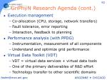 griphyn research agenda cont