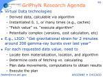 griphyn research agenda