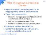 high throughput computing condor
