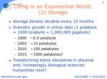 living in an exponential world 2 storage