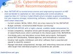 u s cyberinfrastructure draft recommendations