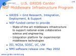 u s grids center nsf middleware infrastructure program